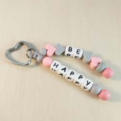 "Porta chaves ""Be Happy""..."